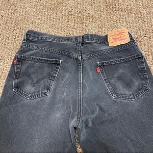 RARE Double Red Tab Levi's 550 Relaxed fit jeans